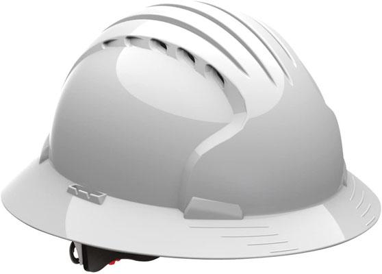 Evolution Deluxe Ev6161 HDPE Shell Hard Hat