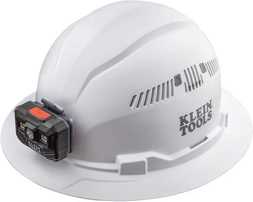 Klein Tools Full Brim 60407 White Hard Hat