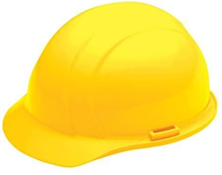 ERB 19262 Americana Style Yellow Hard Hat