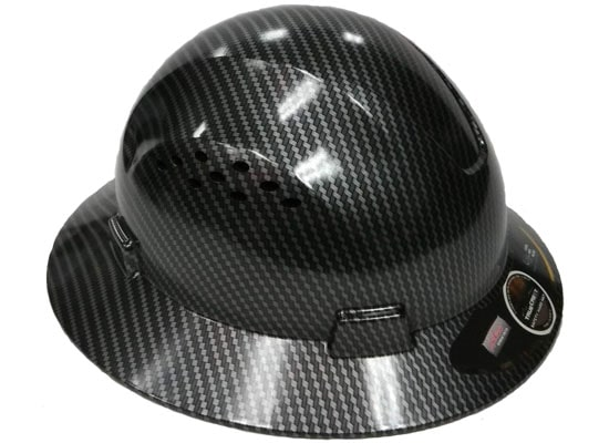 TRUECREST Full Brim Hydro Dipped Hard Hat