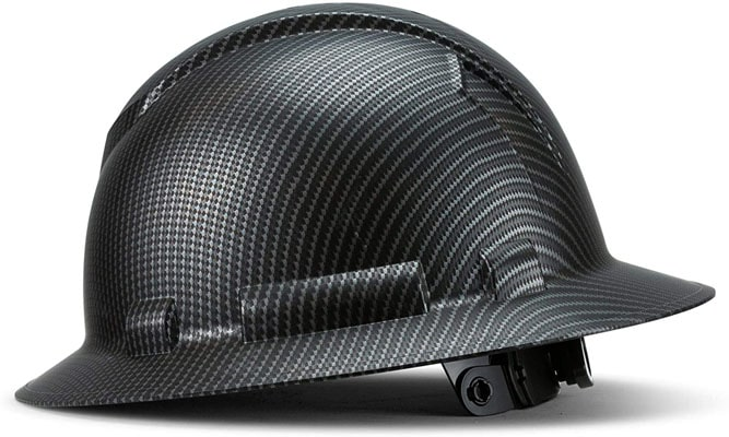 Acerpal Full Brim Carbon Fiber Hard Hat